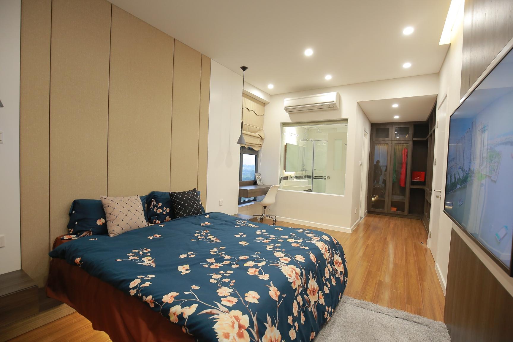 phòng ngủ 25m2 căn 11 Mỹ Đình Pearl